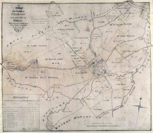 ENCLOSURE MAP CHARNEY BASSETT 1804