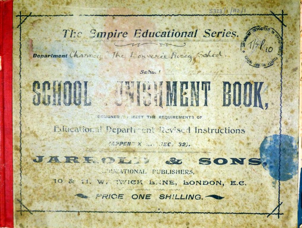 School Punishment Book