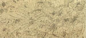 Rocques Map of Berkshire (part) 1761