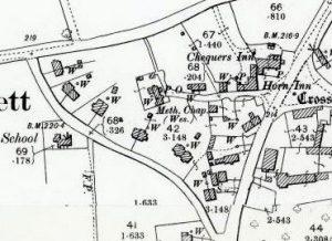 Village Map 1899